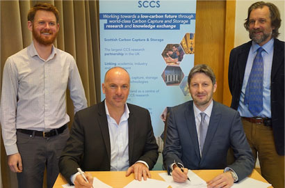 Scottish and Canadian scientists strengthen links on CCS