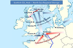 Scottish CO₂ hub